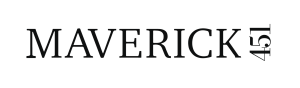 This image has an empty alt attribute; its file name is maverick-451-logo.png